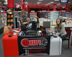 Hoy Despiértate Happy en directo desde Tiendas Electrón
