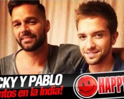 Pablo Alborán y Ricky Martin graban juntos