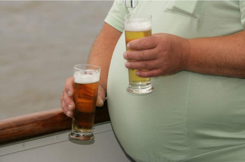 Identifican gen de 'barriga cervecera'