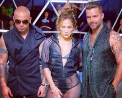 Jennifer López y Ricky Martin, juntos en el teaser de 'Adrenalina' de Wisin