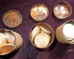 Una pareja que paseaba al perro halla un valioso tesoro con 1400 monedas de oro.
