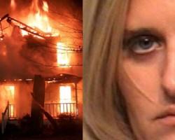 SEÑORA POR DIOS: Incendió la casa de una amiga porque la eliminó de Facebook