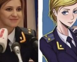La fiscal general de Crimea Natalia Poklonskaya, musa del manga japonés