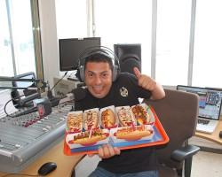 ALCI RIVERO SE PONE MUY HAPPY FUERTE HOT DOG EN DESPIERTATE HAPPY