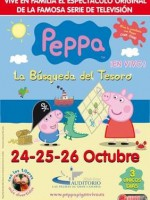 Peppa Pig en octubre en Gran Canaria