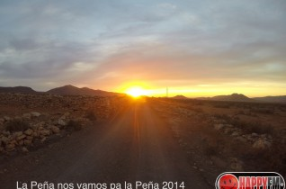 (Video) Vamos Peñita camino a la Peña 2014