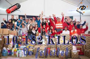 Recogida de Alimentos 10.182 kilos de comida en este 2014 !!! Gracias!!!!!
