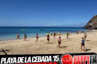 (video) Directo en directo Despiertate Happy Playa de La Cebada 2015