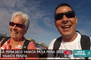 (Video) Caminata de LA PEÑA NOS VAMOS PARA LA PEÑA «VAMOS PEÑITA» 2015