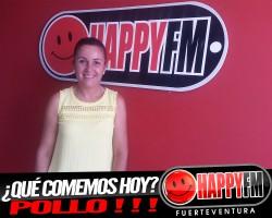 María Isabel come hoy… POLLO!!!!
