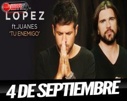 """Pablo López presenta su nuevo single con Juanes """"tu enemigo"""""""