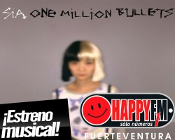 "Sia estrena ""One Million Bullets"""