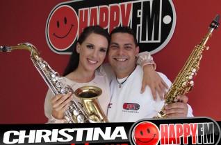 (fotos) Directo Christina – Saxofón en Despiértate Happy