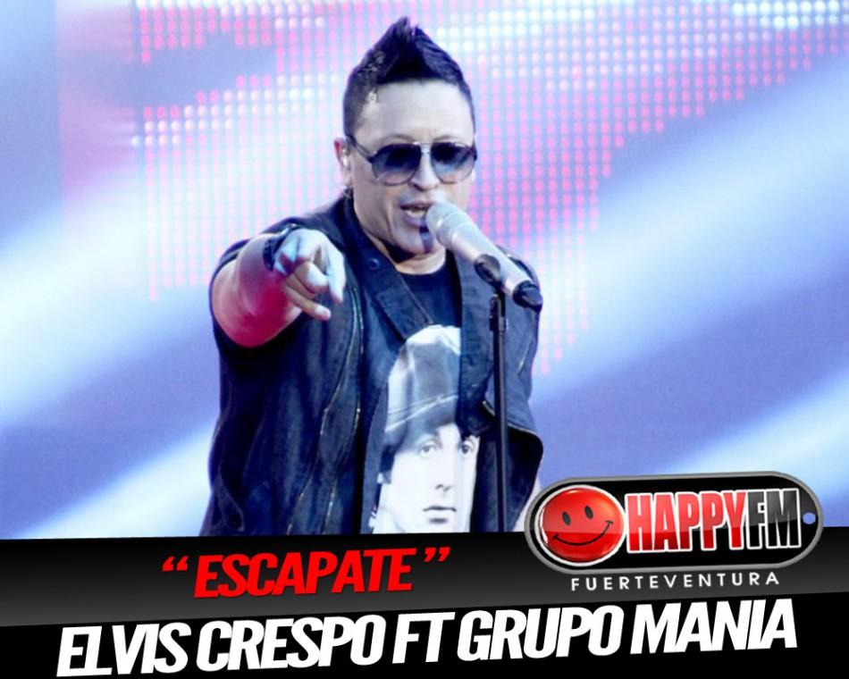 """Elvis Crespo ft Grupo Mania """"Escapate"""""""