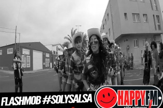 Flashmob #SolySalsa #Fuerteventura #HappyFmFuerteventura 2016