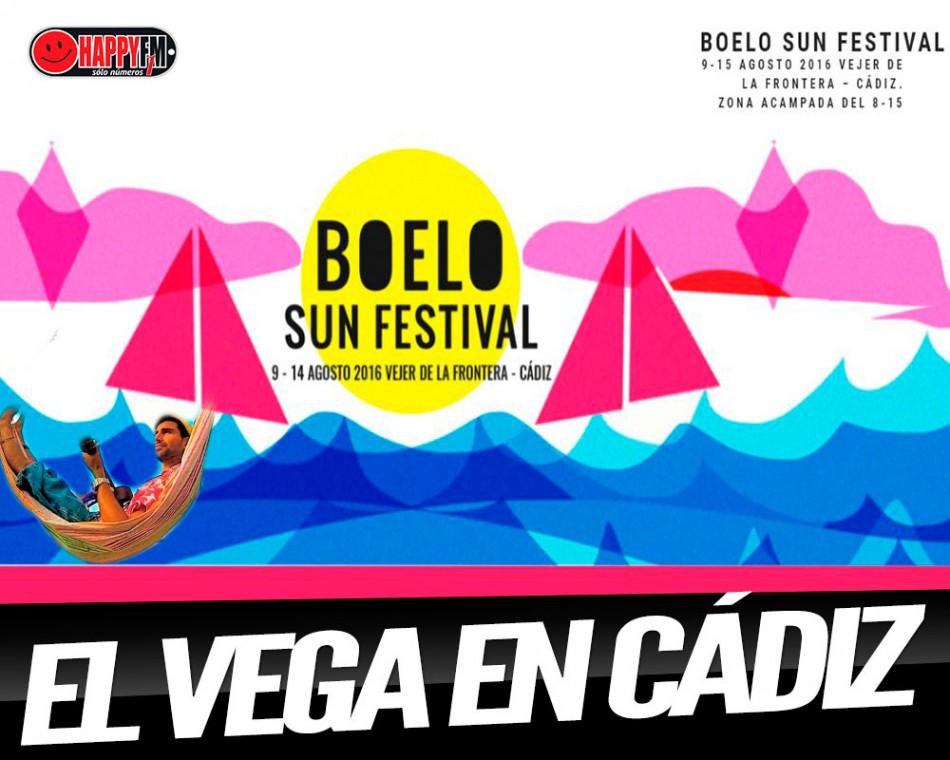 El Vega se apunta al Boelo Sun Festival