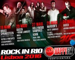 Cartel de lujo para el Rock in Rio 2016