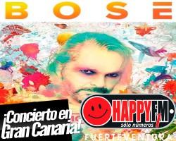 Miguel Bosé de concierto en Gran Canaria