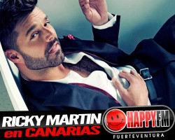 Ricky Martin en Canarias en Septiembre