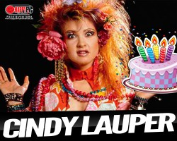 Cindy Lauper celebra cumpleaños