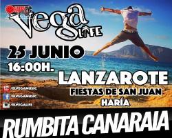 Llega El Vega a Lanzarote