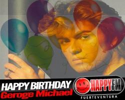El Sábado George Michael esta de Happy Birthday Party