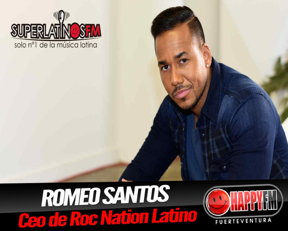 Romeo Santos el nuevo CEO de Roc Nation Latino Happy FM
