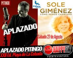 Aplazado el concierto de Pitingo en Morro Jable