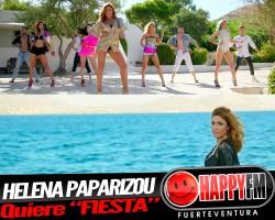 """Helena Paparizou quiere que te vayas de """"Fiesta"""""""