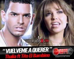 "Video ""Vuélveme a Querer"" Thalia ft Tito El Bambino"