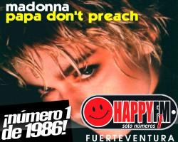 """""""Papa Don´t Preach"""", un número 1 de 1986"""