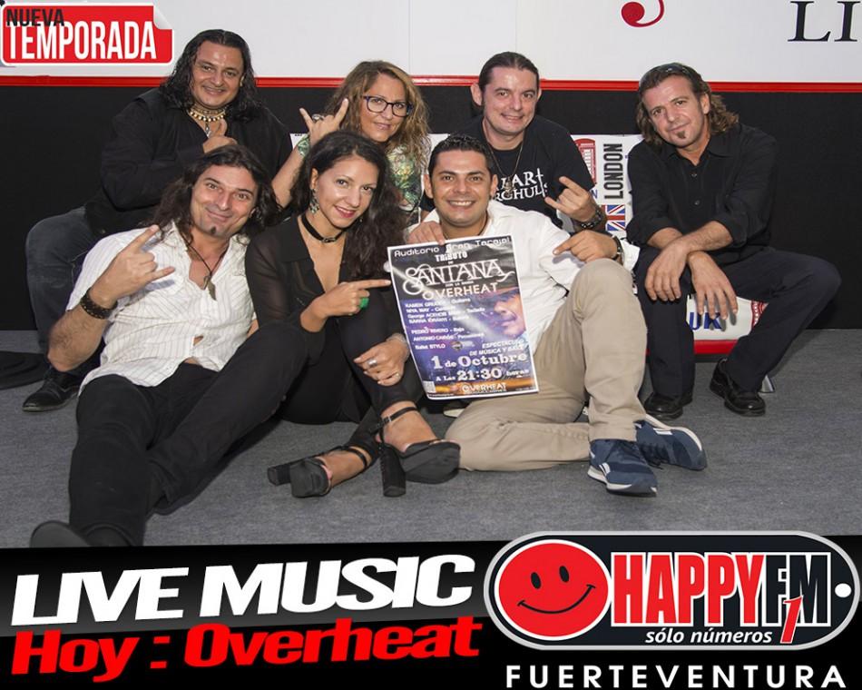 Hoy en Live Music hard rock con Overheat