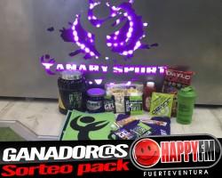 Ganador@s sorteo pack de Canary Sport