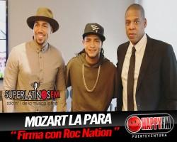 Mozart La Para Firma con Roc Nation