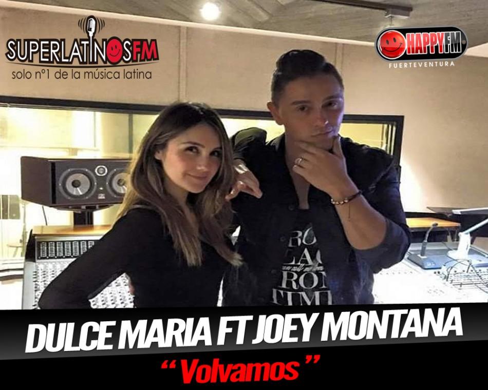 "Dulce Maria ft Joey Montana ""Volvamos"""