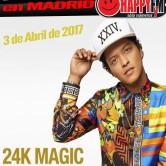 La gira 24 K Magic de Bruno Mars llega a Madrid