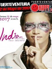 India Martínez en Fuerteventura