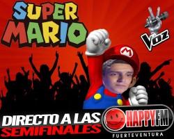 SuperMario directo a las semifinales de La Voz