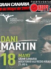 Concierto de Dani Martín en Gran Canaria
