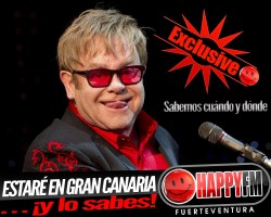CONFIRMADO: Elton John en Gran Canaria en 2017