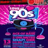 Festival 'LOVE THE 90'S EN CONCIERTO' en Madrid en 2017
