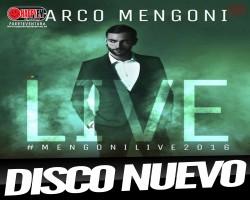 Marco Mengoni presenta disco en directo