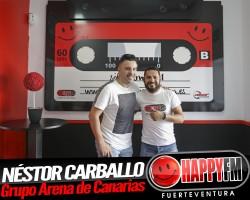 Entrevista a Néstor Carballo en Happy FM Fuerteventura