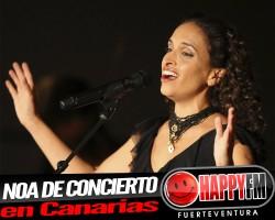 Noa de concierto en Canarias