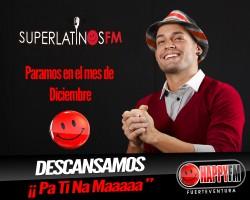 SuperlatinosFM descansa en Diciembre