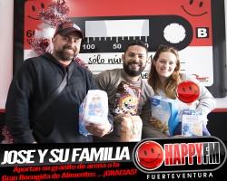 Llegan las primeras colaboraciones de la Gran Recogida de Alimentos Happy Baby 2016