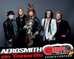 Aerosmith cierra gira de despedida en Tenerife