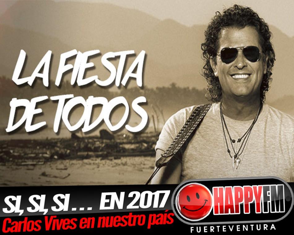 Carlos Vives de conciertos por España