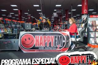 (fotos) Especial Directo Despiértate Happy desde Tiendas Electrón