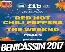 Red Hot Chilli Peppers y The Weekend en el FIB 2017